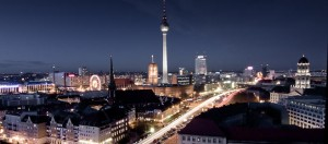 Berlijn, uitzicht richting Alexanderplatz