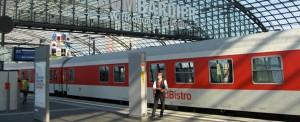 Met de trein naar Berlijn Hauptbahnhof