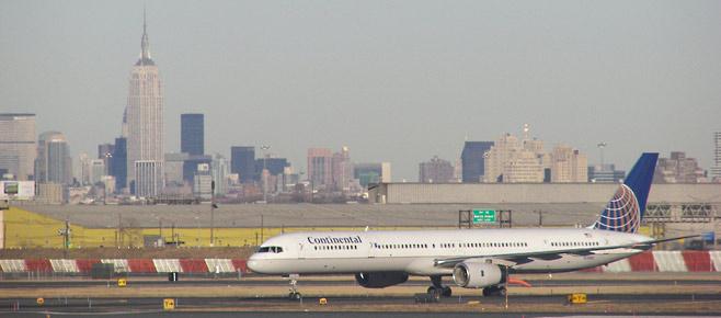 Vliegen naar New York