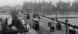 Geschiedenis van Londen, straatbeeld 1903