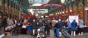 Covent Garden Market, Apple Market, Londen