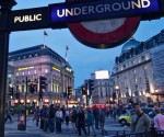 Pleinen in Londen: Piccadilly Circus