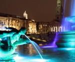 Pleinen in Londen: Trafalgar Square