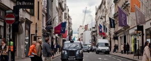 Winkelstraten in Londen: Bond Street