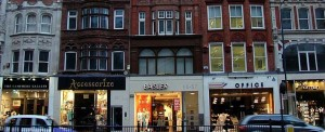 Winkelstraten in Londen: Brompton Road