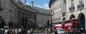 Winkelstraten in Londen: Regent Street