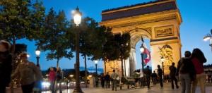 Bezienswaardigheden in Parijs: Arc de Triomphe