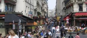 Markten in Parijs: Rue Montorgueil