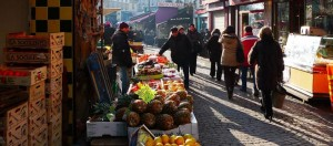 Markten in Parijs: Rue Mouffetard
