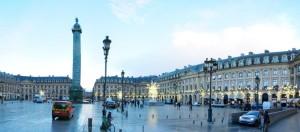Pleinen in Parijs: Place Vendome