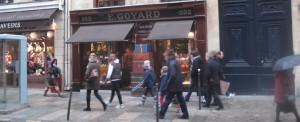 Winkelstraten in Parijs: Rue du Faubourg St-Honore
