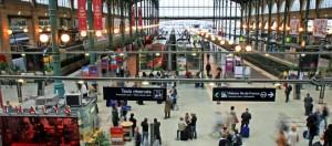 Met de trein naar Parijs: Gare du Nord
