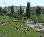Parken in Berlijn: Mauerpark