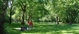 Parken in Berlijn: Tiergarten