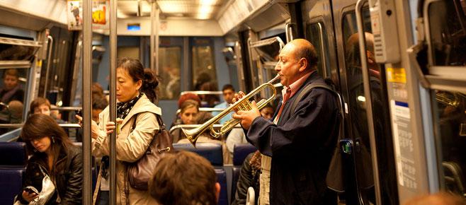 Metro en RER