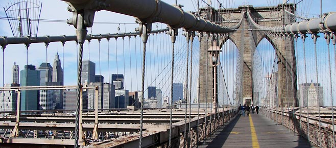 Brooklyn Bridge, bezienswaardigheden in New York