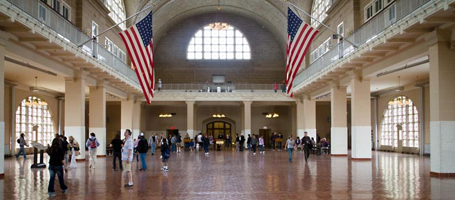 Bezienswaardigheden in New York, Ellis Island
