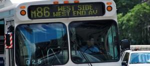 New York, openbaar vervoer, bus