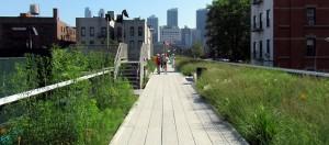 Parken in New York, High Line