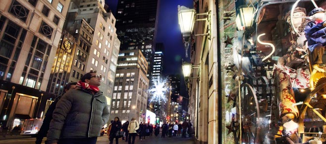 Winkelen op 5th Avenue