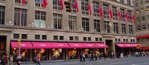 Saks Fifth Avenue, warenhuis in New York