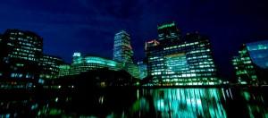 Docklands, wijk in Londen
